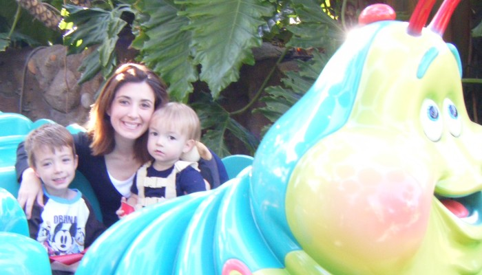 What rides can babies and toddlers go on at Disneyland and Disney California Adventure Park?