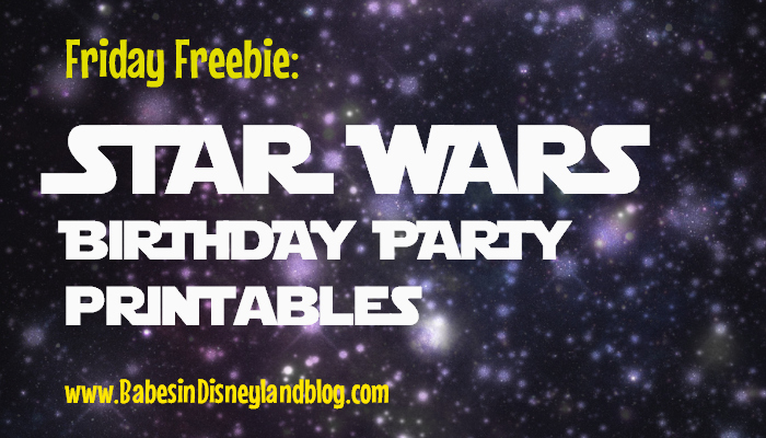Free Star Wars Birthday Party Printables Invitations - Star wars birthday invitation diy