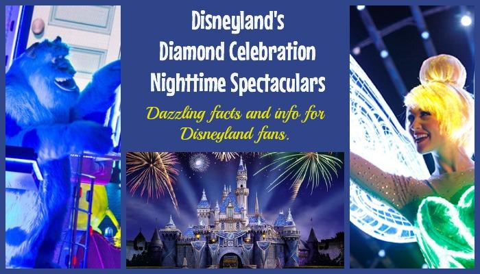 Disneyland Diamond Celebration Nighttime Spectaculars Set To Dazzle