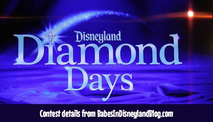 Diamond Days Sweepstakes At The Disneyland Resort Disneyland60 Babes In Disneyland