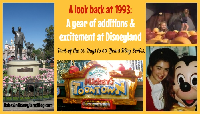 A look back at Disneyland in 1993 #60DaysTo60Years