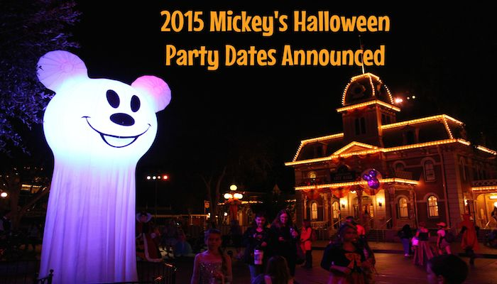 Scary Halloween Party 2015 Dates Announced - Disney World News Update ...