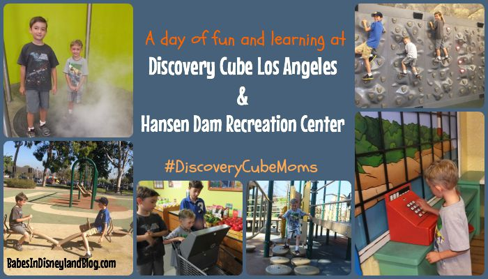A Full Day Of Fun At Discovery Science Cube Los Angeles Babes In Disneyland